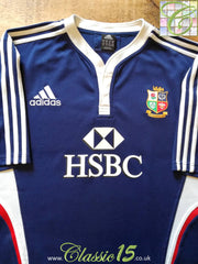 2009 British & Irish Lions Rugby Training Shirt Blue (XXL)