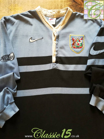 1997/98 Cardiff RFC Home Rugby Shirt (L)
