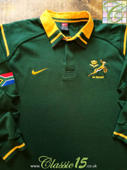 1999/00 South Africa Home Rugby Shirt. (B)