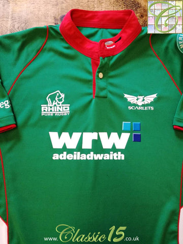 2009/10 Scarlets Away Rugby Shirt (XXL)