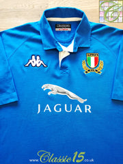 2002/03 Italy Home Rugby Shirt (XL)