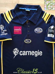 2007/08 Leeds Carnegie Home Premiership Polo Rugby Shirt (L)