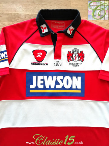 2009/10 Gloucester Home Rugby Shirt (S)