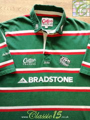 2005/06 Leicester Tigers Home Rugby Shirt (Y)
