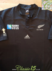 2015 New Zealand Home World Cup Rugby Shirt (XL)