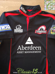 2008/09 Edinburgh Home Magners League Pro-Fit Rugby Shirt (S)