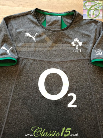 2013/14 Ireland Player Issue Rugby Training Shirt (M)