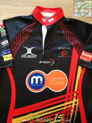 2010/11 Newport Gwent Dragons Home Rugby Shirt (M)