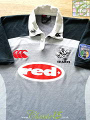 2001 Sharks Away Super 12 Rugby Shirt (XL)