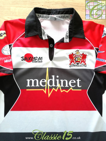 2010/11 Pontypool RFC Home Rugby Shirt (S)