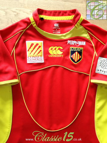 2008/09 Perpignan Home Rugby Shirt (M)