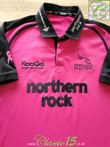 2006/07 Newcastle Falcons Special Edition Rugby Shirt (S)