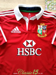 2013 British & Irish Lions Home 'Climacool' Rugby Shirt (L)