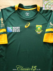 2015 South Africa Home World Cup Rugby Shirt (M)