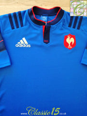 2015/16 France Home Rugby Shirt (L)