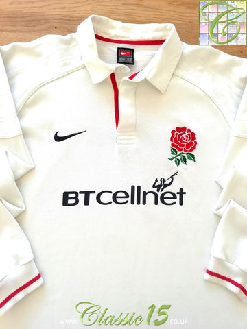 1999/00 England Home Rugby Shirt. (M)