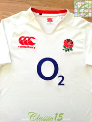 2012/13 England Home Pro-Fit Rugby Shirt (M)
