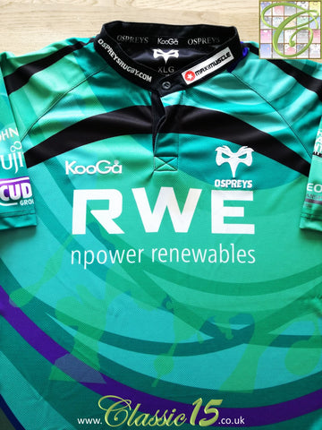 2009/10 Ospreys European Rugby Shirt (XL)