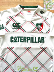 2013/14 Leicester Tigers Away Pro-Fit Rugby Shirt (S)