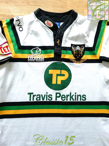 2008/09 Northampton Saints Away Rugby Shirt (M)