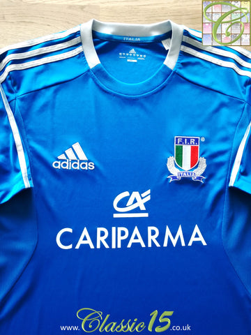 2012/13 Italy Home Basic Rugby Shirt (L)