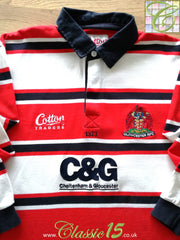 2003/04 Gloucester Rugby Home Shirt. (XL)