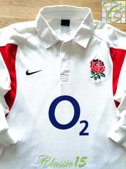 2005/06 England Home Rugby Shirt. (XXL)