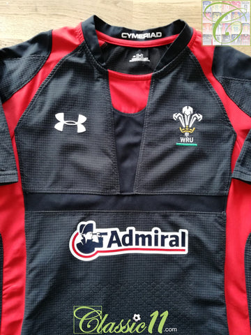 2011/12 Wales Away Pro-Fit Rugby Shirt (XL)