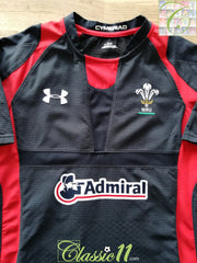 2011/12 Wales Away Player Issue Rugby Shirt (XL)