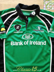 2006/07 Connacht Home Pro-Fit Rugby Shirt (M)