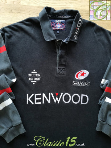 1997/98 Saracens Home Rugby Shirt (XXL)