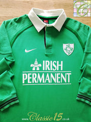 1999/00 Ireland Home Rugby Shirt. (M)
