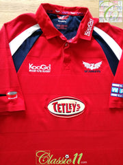 2004/05 Scarlets Home Rugby Shirt (XL)