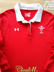 2011/12 Wales Home Rugby Supporters Shirt (W) (XL)