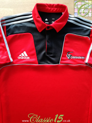 2011 Crusaders Rugby Polo T-Shirt (3XL)