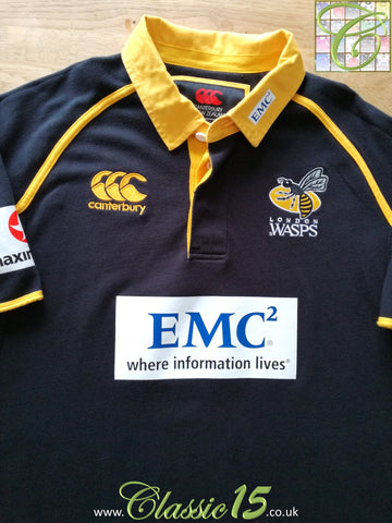 2011/12 London Wasps Home Rugby Shirt (XL)