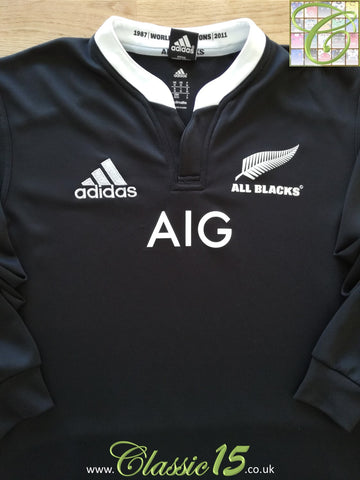2013 New Zealand Home Rugby Shirt. (M)