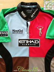 2008/09 Harlequins Home Rugby Shirt (XL)