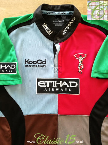 2008/09 Harlequins Home Rugby Shirt (XXL)