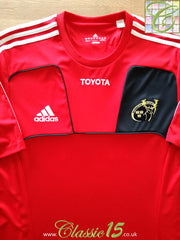 2010/11 Munster Rugby Training T-Shirt (L)