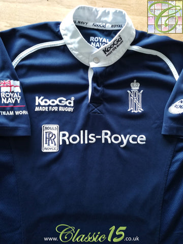 2007 Royal Navy Home Rugby Shirt (M)