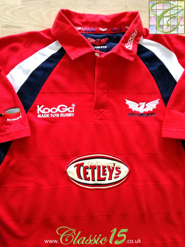 2003/04 Scarlets Home Rugby Shirt (XL)
