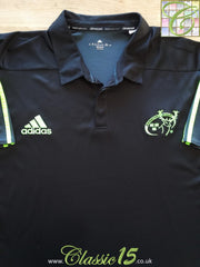 2014/15 Munster Rugby Training Polo Shirt (XXL)