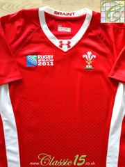 2011 Wales Home World Cup Rugby Shirt (W) (L)