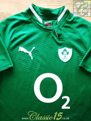 2011/12 Ireland Home Pro-Fit Rugby Shirt (S)