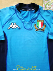 2000/01 Italy Home Rugby Shirt (M)