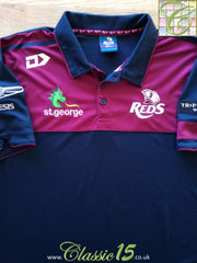 2019 Queensland Reds Media Polo Rugby Shirt (XL)