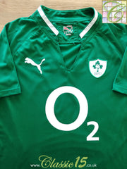 2011/12 Ireland Home Pro-Fit USP Rugby Shirt (W) (Size 16)