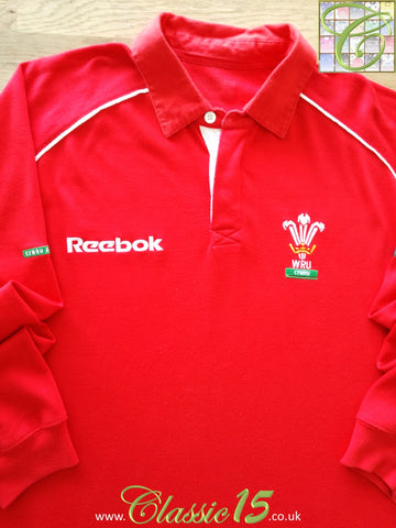 2000/01 Wales Home Rugby Shirt. (XXL)