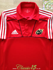 2010/11 Munster Rugby Polo Shirt - Red (L)